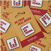 TENGA PIN BADGE Square