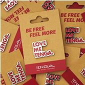 TENGA PIN BADGE Die-cut