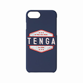 TENGA iPhone CASE 【WHITE LOGO】(iPhone7/8兼用)