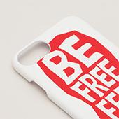 TENGA iPhone CASE 【TYPOGRAPHY】(iPhone7/8兼用)