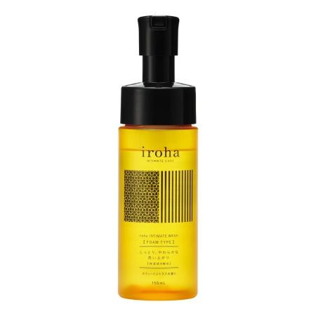 iroha INTIMATE WASH 【 FOAM TYPE 】 スウィートシトラスの香り