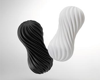 MOOVA(ムーバ)は回り、吸い付き、絡みつく。新感覚スピニングホールです。白・黒の2色展開で、ゲルのディティールと硬度が違うソフト仕様・ハード仕様となっています。