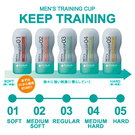 MEN'S TRAINING CUP KEEP TRAINING Lv.4