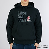 BROSMIND【LOVE ME TENGA WITH DOKUMI】Hoodie BLACK