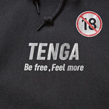 TENGA R18 Foil Hoodie