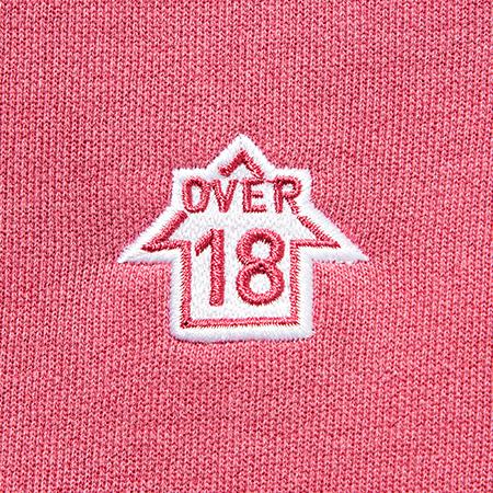 OVER18 Hoodie Pink