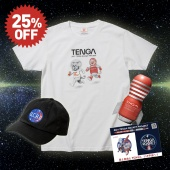 【TENGA ROCKETセット】漫☆画太郎×TENGA SPACE ドクミ&TENGA 社長 Tシャツ