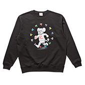 TENGA DOKUMI【Multi-Color】Sweatshirt BLACK