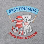 TENGA ROBO&DOKUMI BEST FRIENDS Sweatshirt