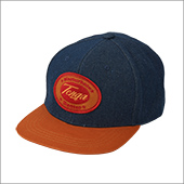 TENGA ORIGINAL DENIM CAP CAMEL