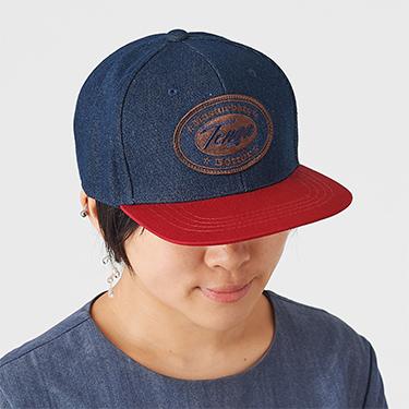 TENGA ORIGINAL DENIM CAP RED