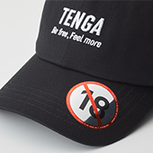 TENGA ORIGINAL BASEBALL CAP BLACK