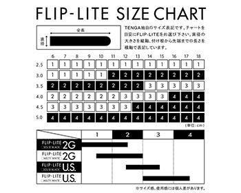 FLIP-LITESIZECHART