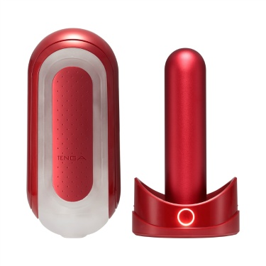 TENGA FLIP 0(ZERO) RED & WARMER SET
