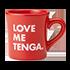 LOVE ME TENGA マグカップ RED