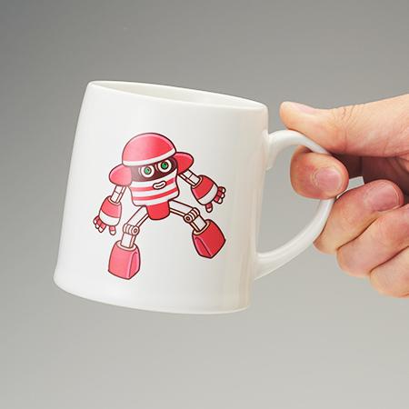 BROSMIND【TENGA ROBO】Mug-Cup RED