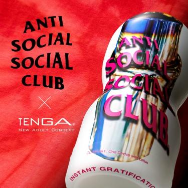 TENGA×ANTI SOCIAL SOCIAL CLUB COLLABORATION CUP 2021