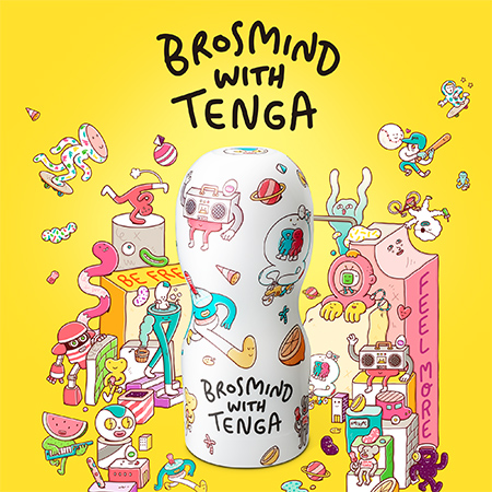 BROSMIND WITH TENGA COLLABORATION CUP