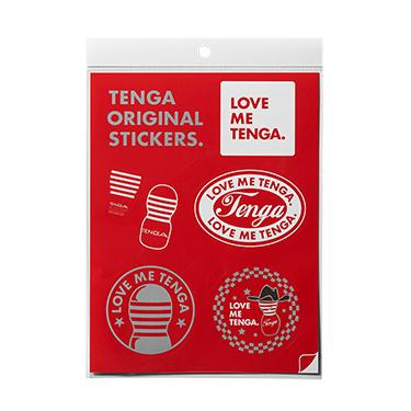 TENGA オリジナルステッカー B