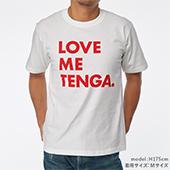 LOVE ME TENGA T-SHIRTS レッド