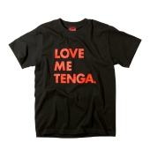 LOVE ME TENGA T-SHIRTS ブラック