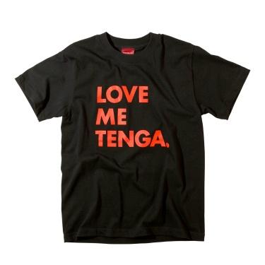 LOVE ME TENGA T-SHIRTS ブラック