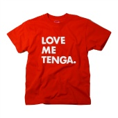 LOVE ME TENGA T-SHIRTS レッド