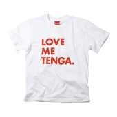 LOVE ME TENGA T-SHIRTS ホワイト