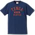 TENGAmontee COLLEGE-TEE NavyRed