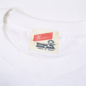 TENGAmontee COLLEGE-TEE WhiteBlack