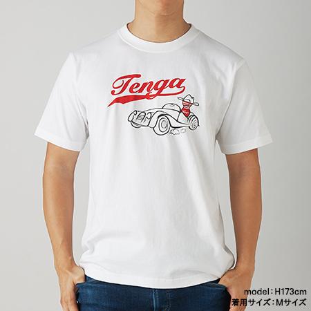 TENGA CLASSIC CAR T-SHIRTS ホワイト
