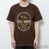 TENGA FEEL MORE ロケットTee【BROWN】