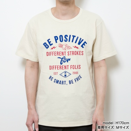 TENGA BE POSITIVE ロケットTee【IVORY】