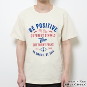 TENGA BE POSITIVE ロケットTee【IVORY】