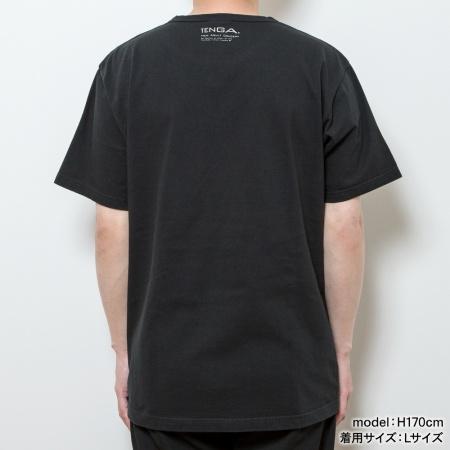 TENGA SIMPLE LOGO Tee【BLACK】