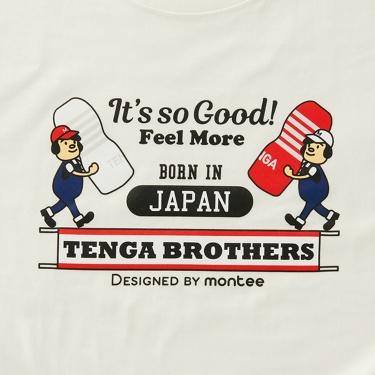 montee TENGA BROTHERS Tシャツ