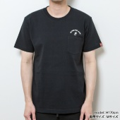 montee BE FREE FEEL MORE Tシャツ【BLACK】