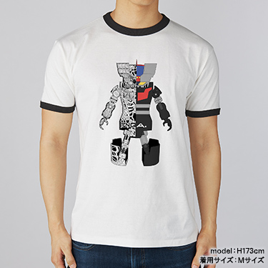 TENGA ROBO Tee【MAZINGER Z Collaboration】WHITE