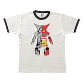 TENGA ROBO Tee【GETTER ROBOT Collaboration】WHITE