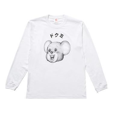TENGA DOKUMI【FACE】LongSleeveTee WHITE