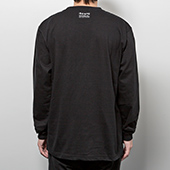 TENGA DOKUMI【FACE】LongSleeveTee BLACK