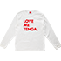 LOVE ME TENGA LongSleeveTee WHITE