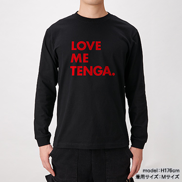 LOVE ME TENGA LongSleeveTee BLACK