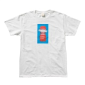 Polygon TOC101 Printed Tee BLUE