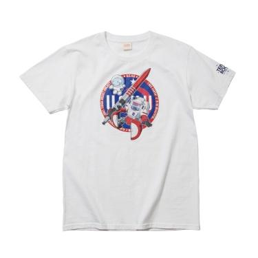 SPACE TENGA ロボ Tシャツ ホワイト