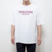 TENGA STORE TOKYO Logo Tee White×Pink