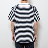 TENGA【CUP】Embroidered Striped Tee
