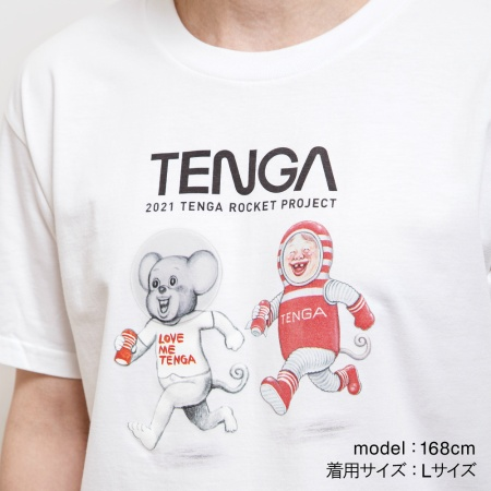 漫☆画太郎×TENGA SPACE ドクミ&TENGA 社長 Tシャツ