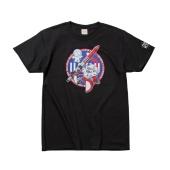 SPACE TENGA ロボ Tシャツ ブラック
