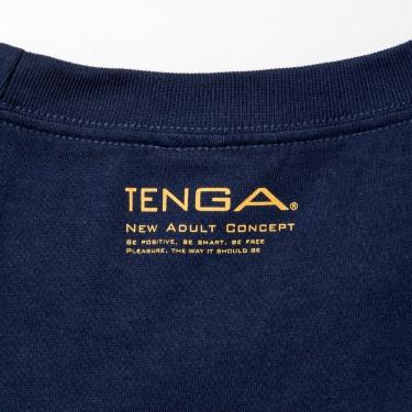 TENGA カレッジ Tシャツ 紺